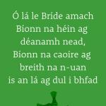 Lá le Bríde